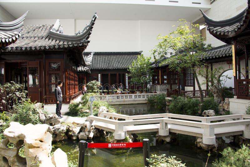 Download Azja Chińczyk, Pekin, Chiny Ogrodowy Muzeum, Salowy Podwórze, Suzhou Jiangnan Zdjęcie Stock Editorial - Obraz złożonej z nowożytny, beijing: 53789093