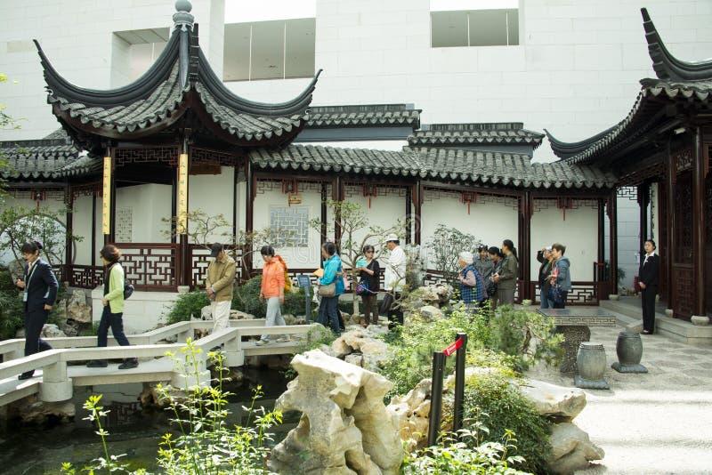 Download Azja Chińczyk, Pekin, Chiny Ogrodowy Muzeum, Salowy Podwórze, Suzhou Jiangnan Fotografia Editorial - Obraz złożonej z wystawa, nowożytny: 53789162