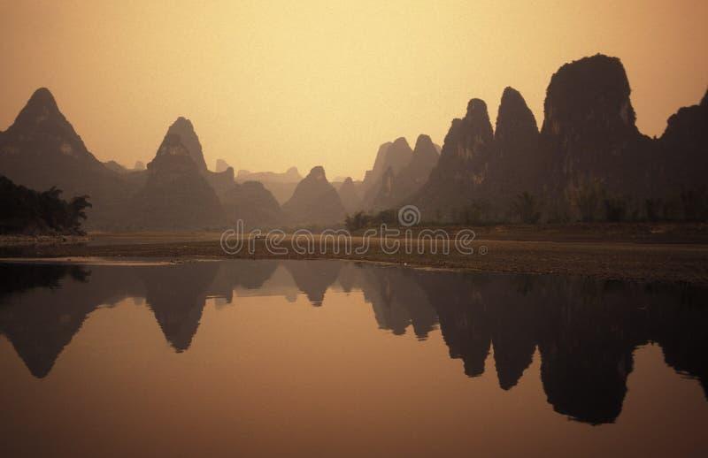 AZJA CHINY GUILIN obrazy royalty free