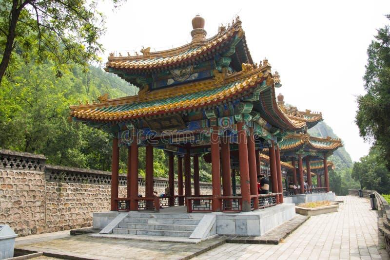 Azja Chiny, Pekin, ¼ ŒPavilion wielkiego muru Juyongguan, scenerii i architectureï, galeria fotografia royalty free