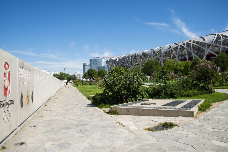 Download Azja Chiny, Pekin, Olimpijski Park, Nowożytna Architektura, Krajowy Stadium Obraz Stock Editorial - Obraz złożonej z architektury, foremność: 57650529