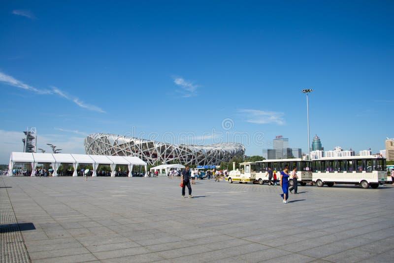 Download Azja Chiny, Pekin, Olimpijski Park, Nowożytna Architektura, Krajowy Stadium Obraz Stock Editorial - Obraz złożonej z turysta, chiny: 57651949
