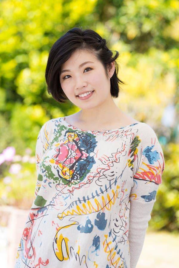 Azja kobiety portret zdjęcia royalty free
