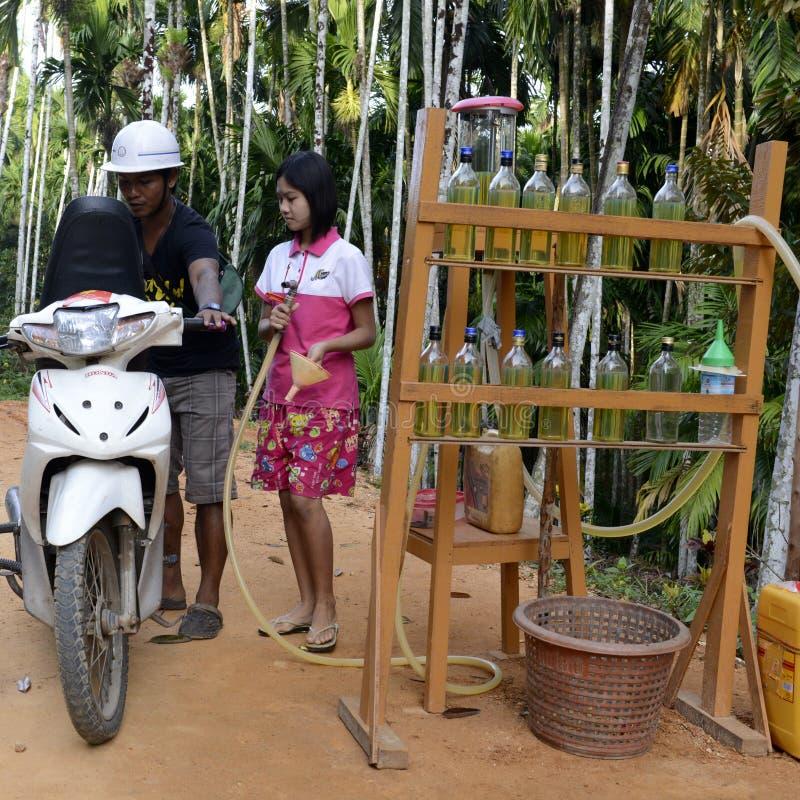 AZJA MYANMAR MYEIK ludzie obraz stock