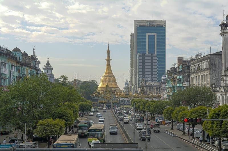 Azja, Myanmar, Yangon obraz stock