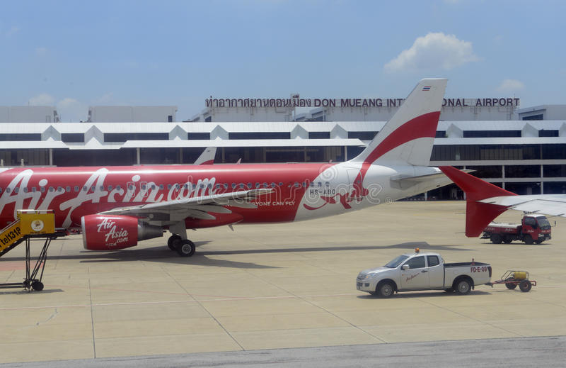AZJA TAJLANDIA BANGKOK DONG MUEANG lotnisko obraz royalty free