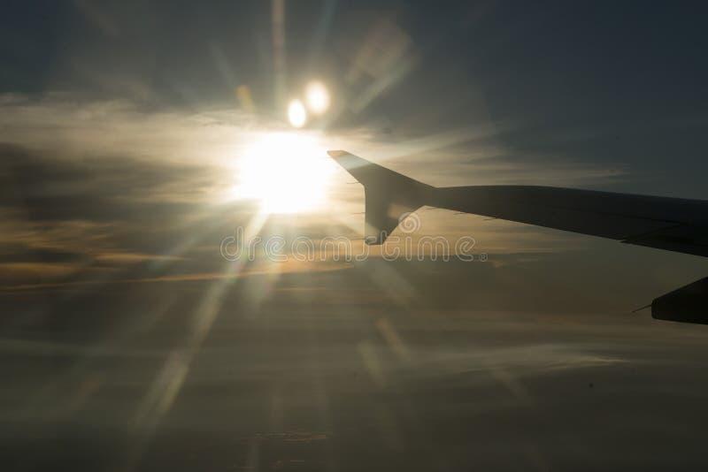 AZJA TAJLANDIA podróż powietrzna obraz royalty free