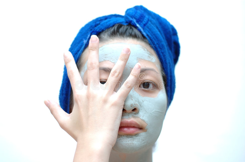 azjaci maskowa kobieta zdjęcia stock