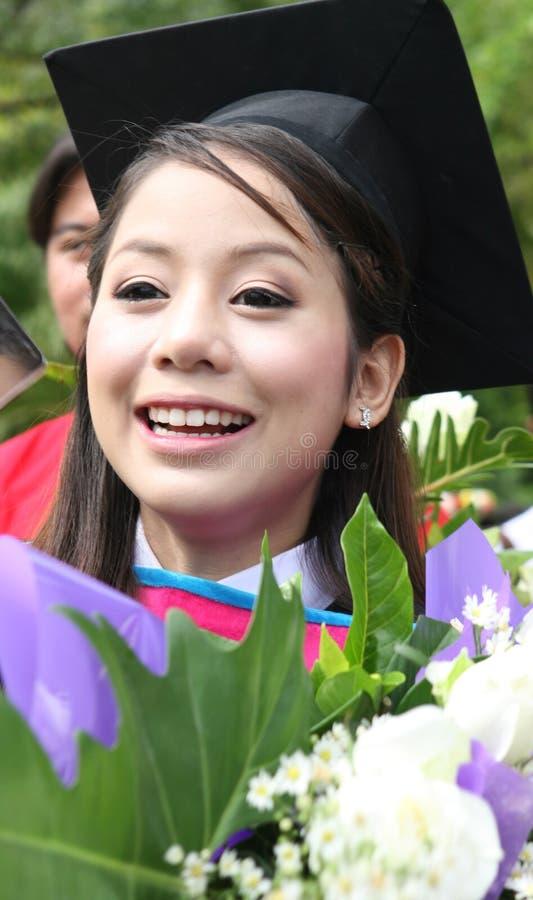 azjata absolwent zdjęcie royalty free