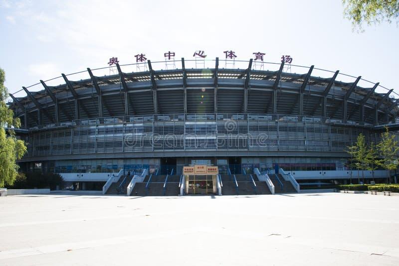 Azjata Chiny, Pekin Olimpijski centrum sportowe zdjęcia royalty free