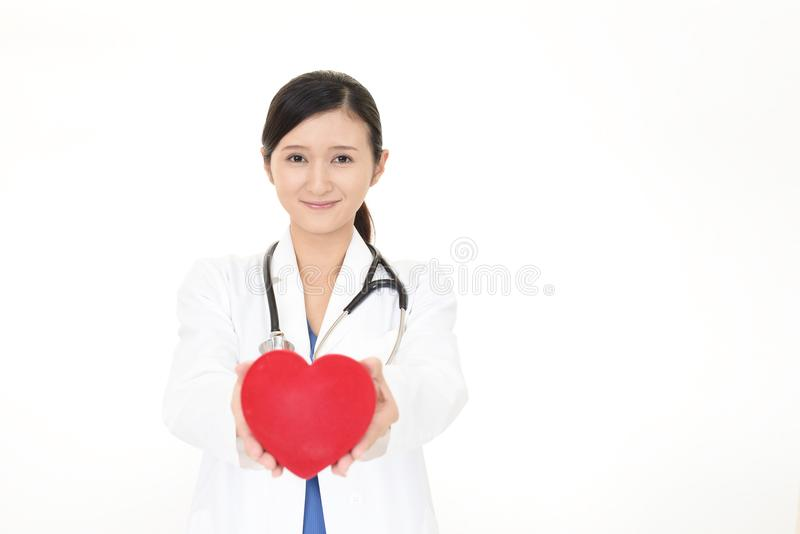 azjata ja target709_0_ doktorski medyczny obrazy stock