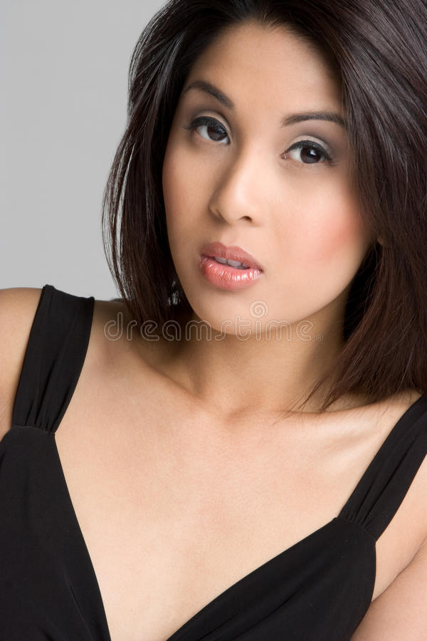 azjata model fotografia royalty free