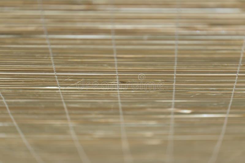 Azjata stylowa bambusowa drewniana zasłona obrazy royalty free