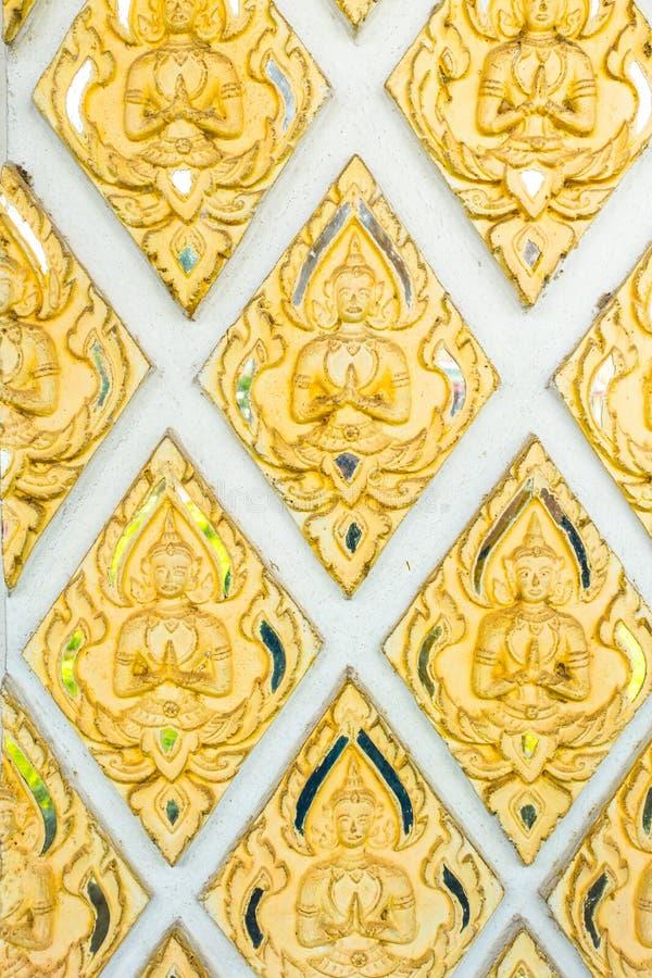 Azjata stylowego bóg antykwarska świątynna dekoracyjna sztuka obraz stock