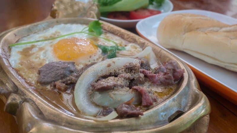 Azjata stylowy śniadanie fotografia royalty free