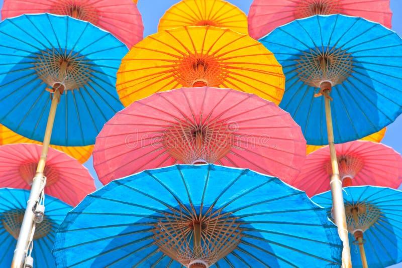 Azjata stylowy parasol obrazy stock