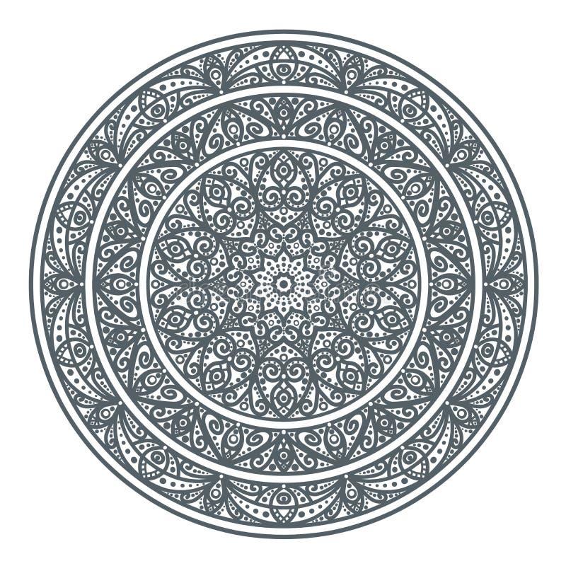 Azjata wzór, ornament royalty ilustracja