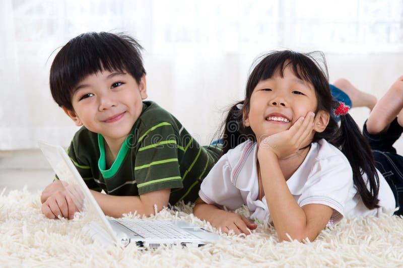 Azjatyccy dzieciaki zdjęcia royalty free