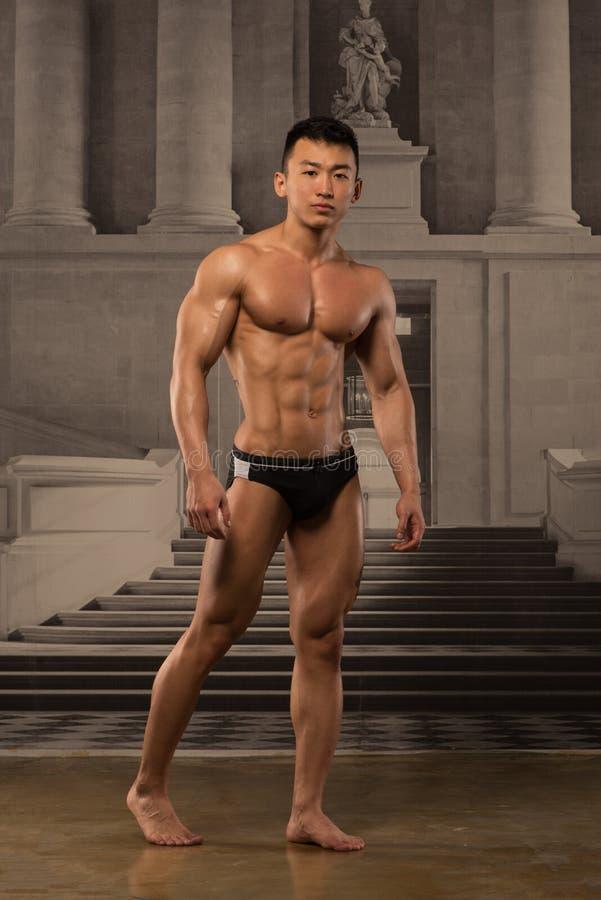 Azjatycka atleta obraz stock