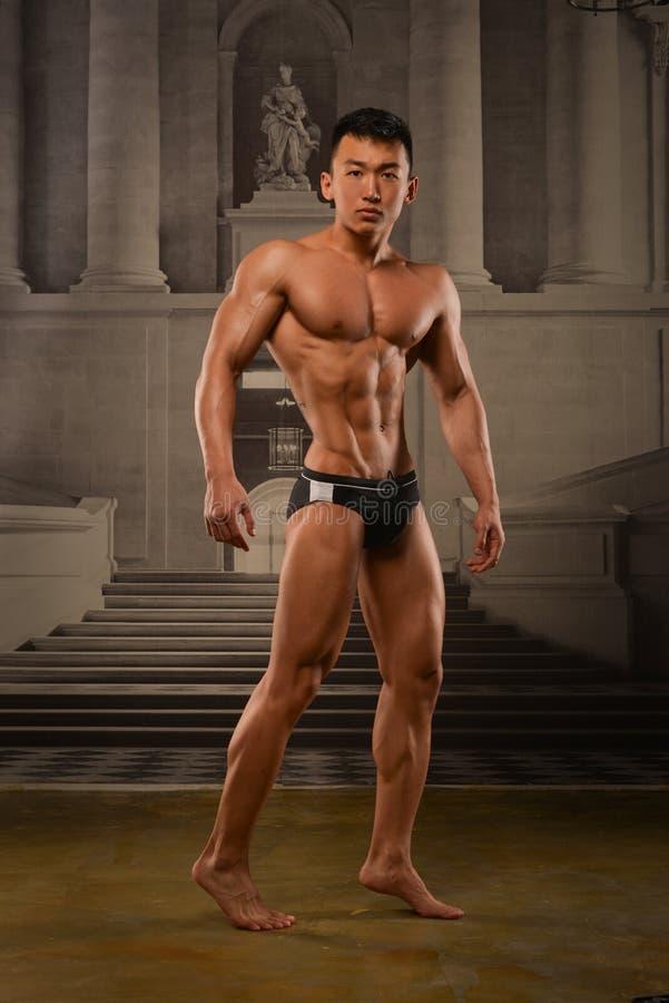 Azjatycka atleta obrazy stock