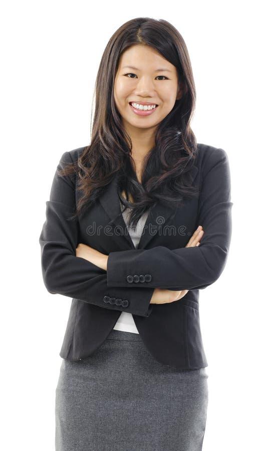 Azjatycka biznesowa kobieta zdjęcia royalty free