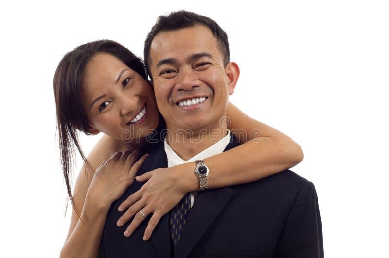 Azjatycka Para fotografia royalty free