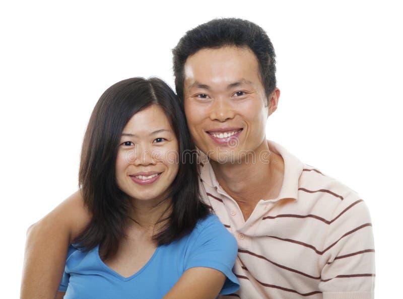 Azjatycka para fotografia stock