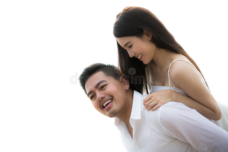 Azjatycka Para zdjęcie royalty free