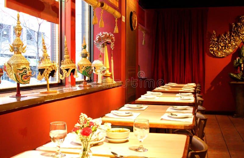 Azjatycka restauracja obrazy stock