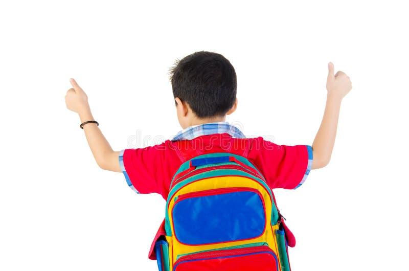 Azjatycka szkolna chłopiec zdjęcia royalty free