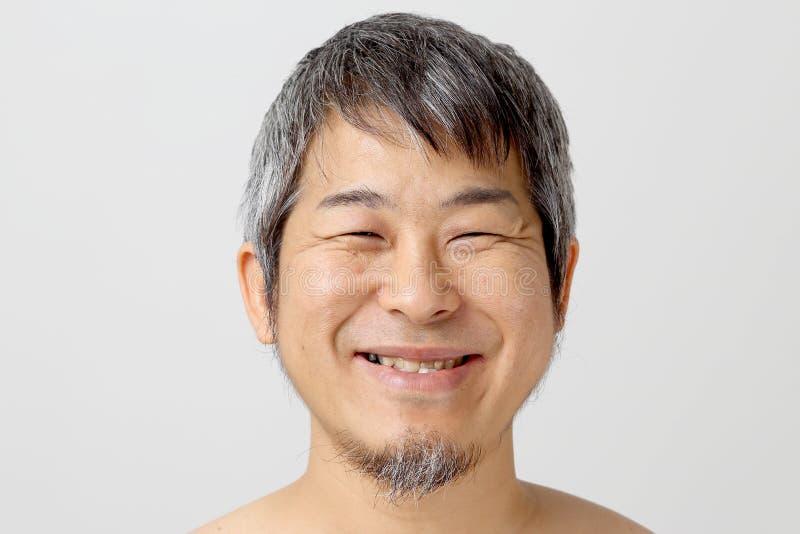 Azjatycka twarz obraz royalty free