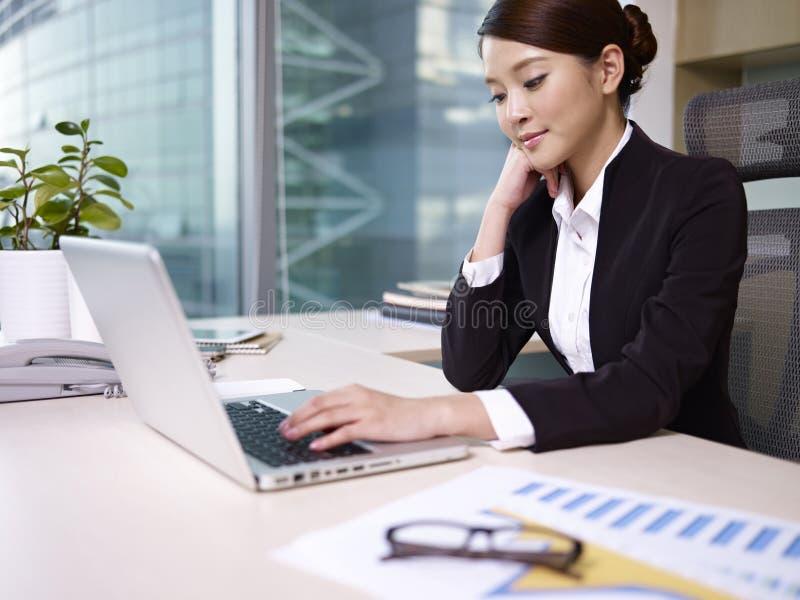 Azjatycki bizneswoman fotografia stock