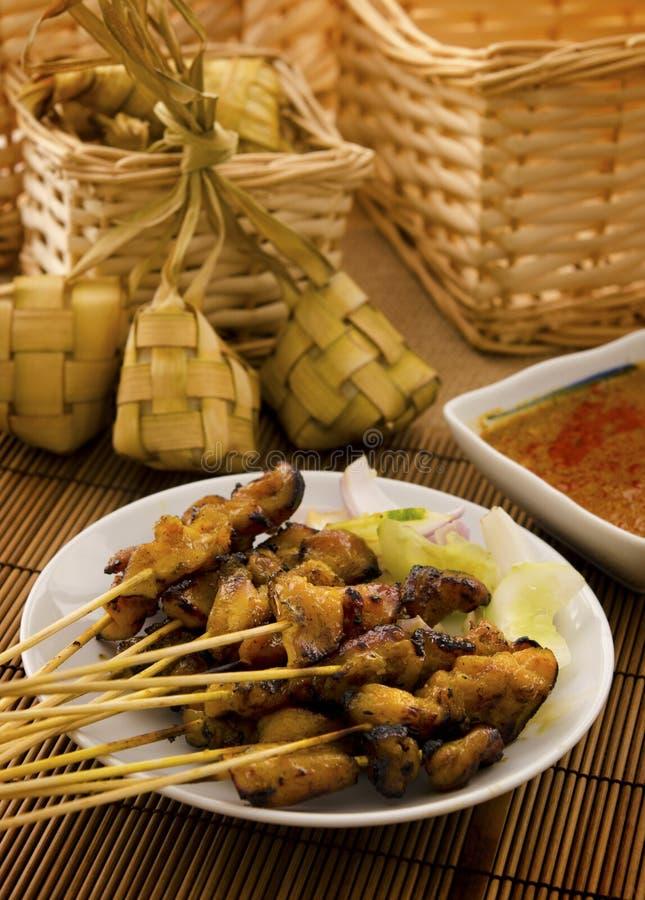 Azjatycki Malajski jedzenie fotografia royalty free