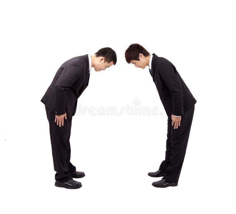 azjatykci biznesmen dwa fotografia stock