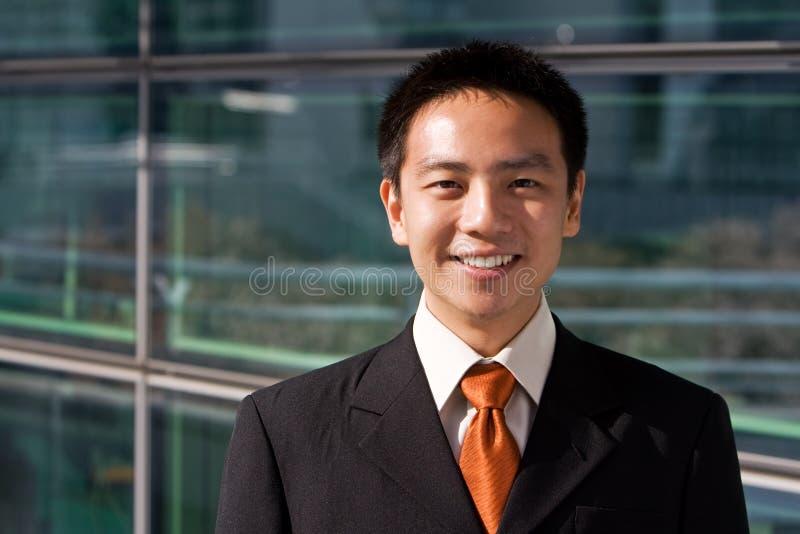 azjatykci biznesowy chiński mężczyzna zdjęcie stock