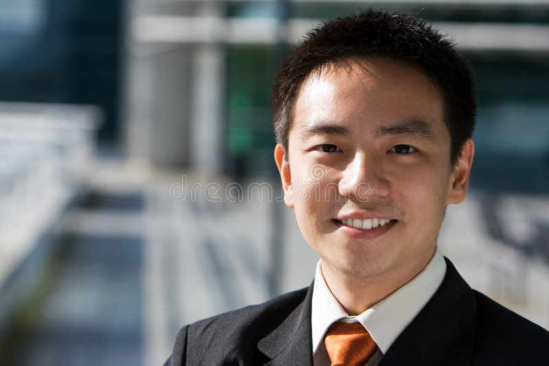 azjatykci biznesowy chiński mężczyzna zdjęcia stock