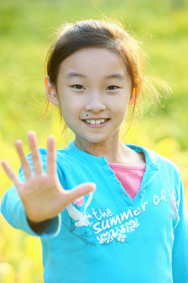 azjatykci dziecko fotografia royalty free