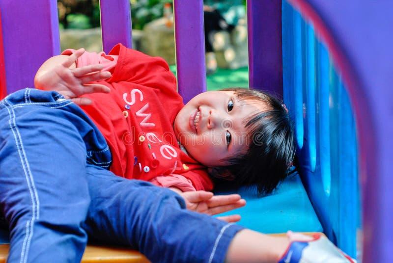 azjatykci dziecko obraz royalty free