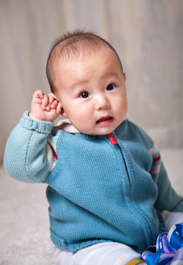 azjatykci dziecko fotografia stock