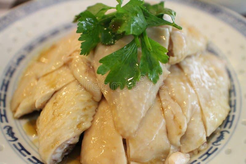 azjatykci kurczaka zbliżenia Hainan ryż styl zdjęcia royalty free