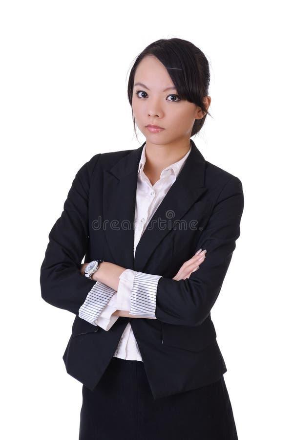 azjatykci piękny bizneswoman obrazy royalty free