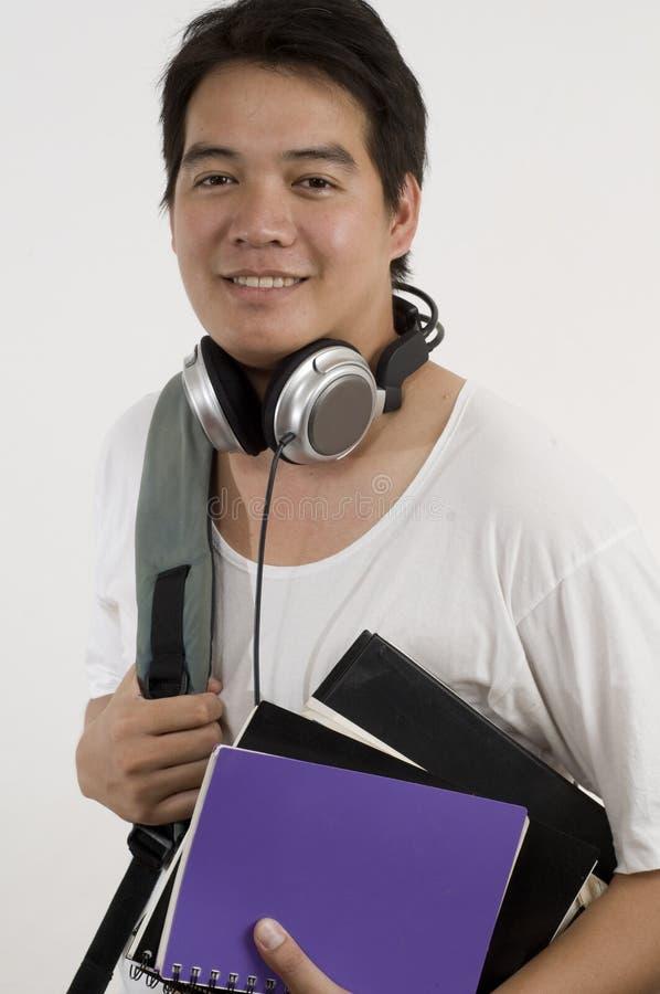 azjatykci student collegu fotografia stock