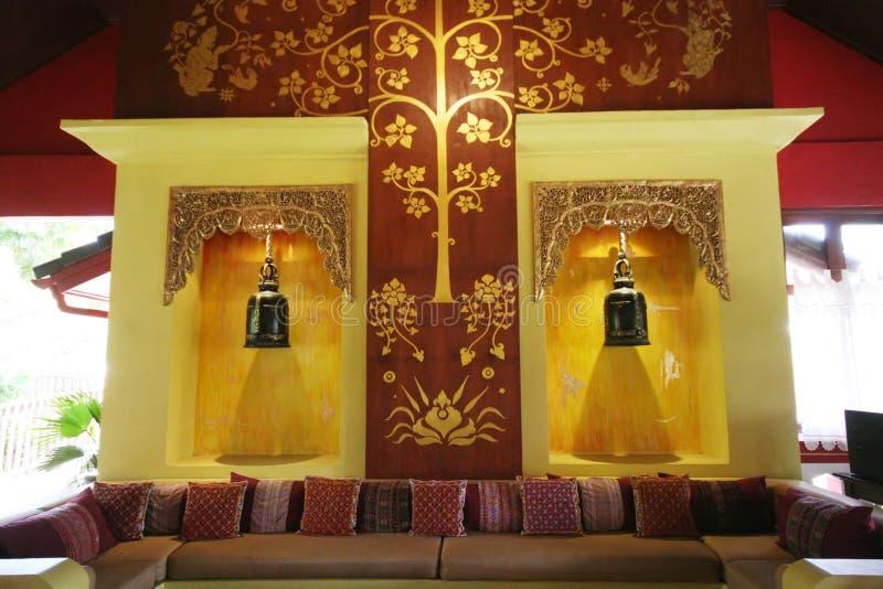 azjatykci wnętrze fotografia royalty free