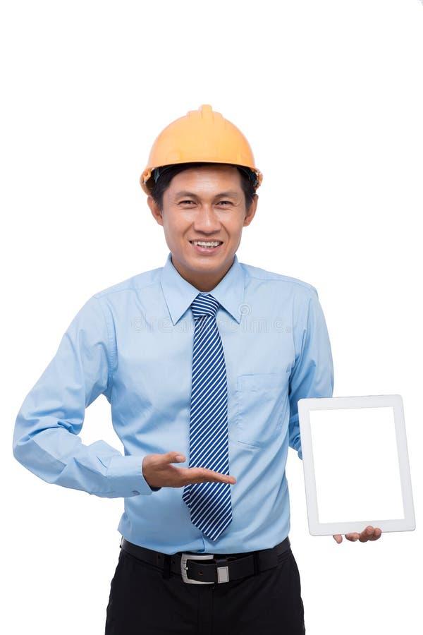 Download Azjatykci inżynier obraz stock. Obraz złożonej z szczęśliwy - 41953835
