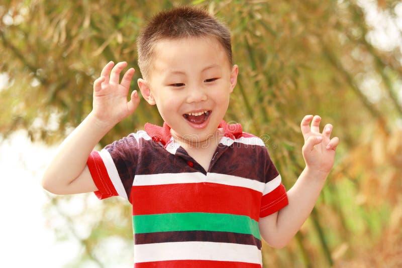 azjatykcia chłopiec zdjęcie stock