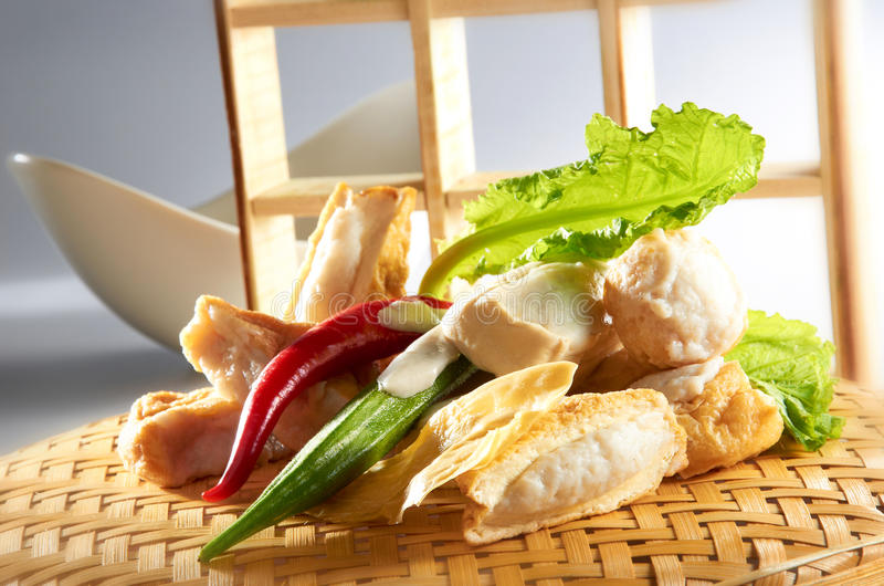 Azjatykcia Chińska Kuchnia Zdjęcia Stock