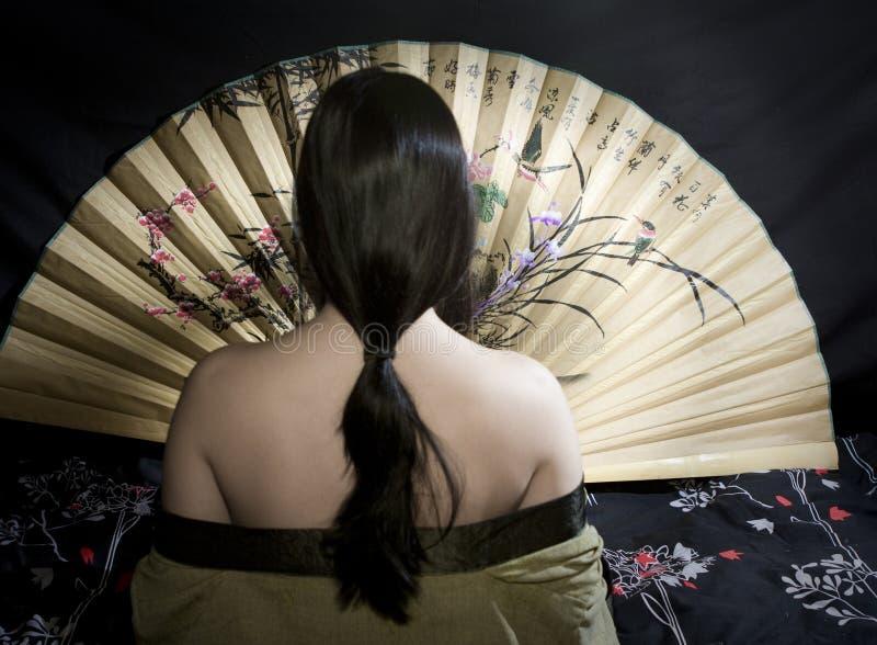 azjatykcia kobieta obrazy royalty free