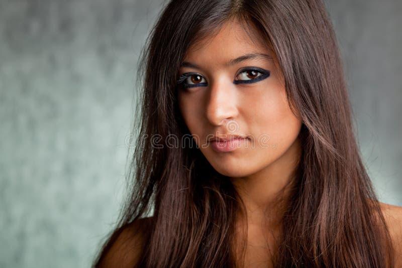 azjatykcia piękna dziewczyna obrazy royalty free