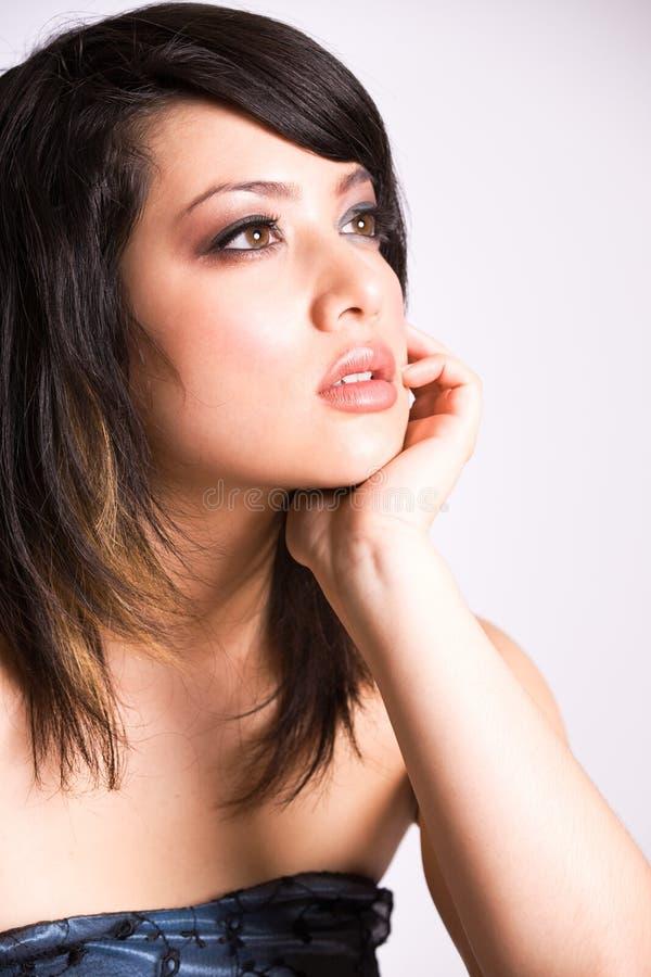azjatykcia piękna dziewczyna zdjęcia royalty free