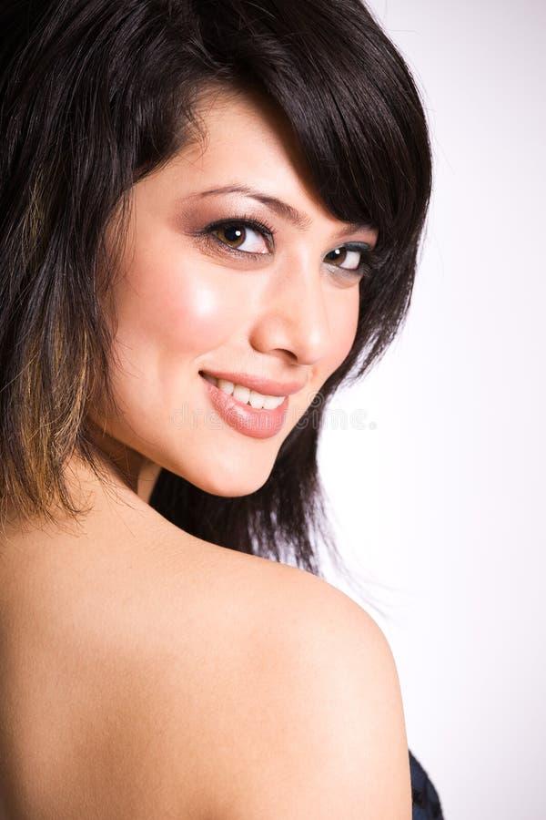 azjatykcia piękna dziewczyna zdjęcie stock